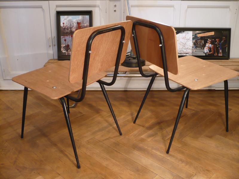 Petits fauteuils années 60