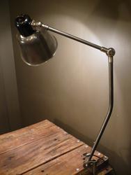 lampe d'atelier vintage Belmag