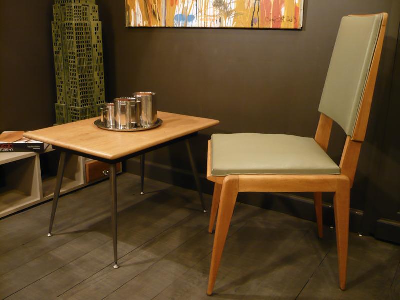 Chaise vintage design scandinave.JPG