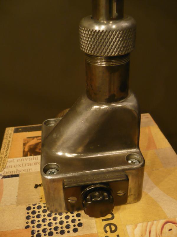 Lampe potence vintage Derungs