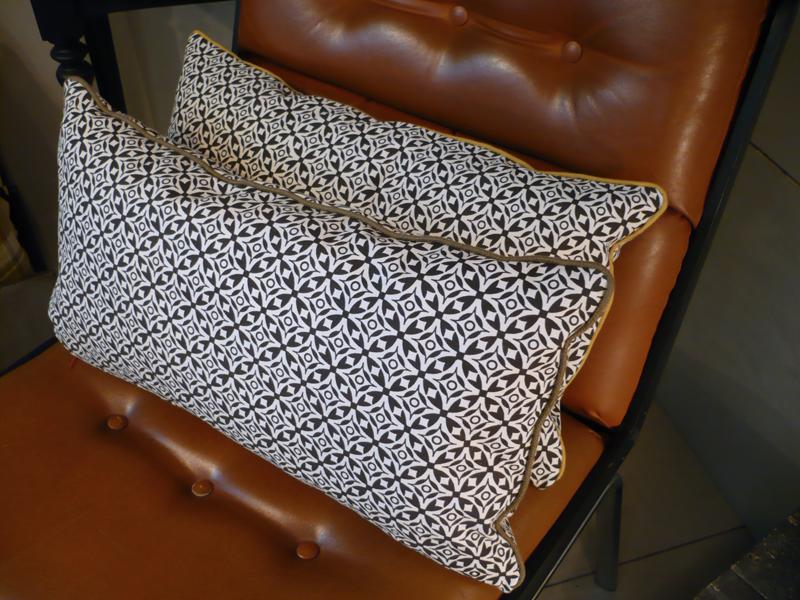 coussins pour fauteuils skaï