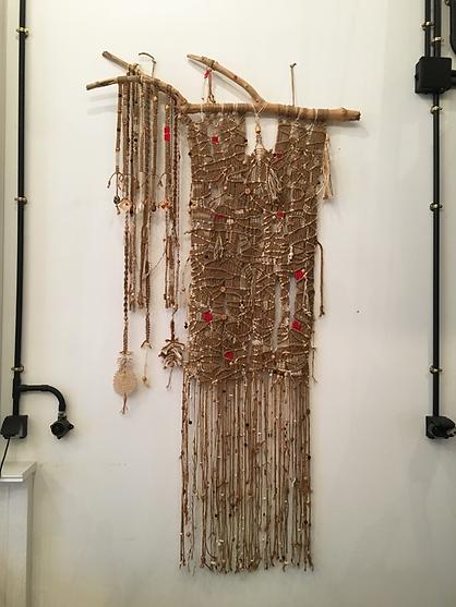Art contemporain très poétique, le Fiber Art investit le show-room ArtchiArty