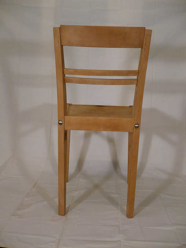 chaise en bois Stella 50'