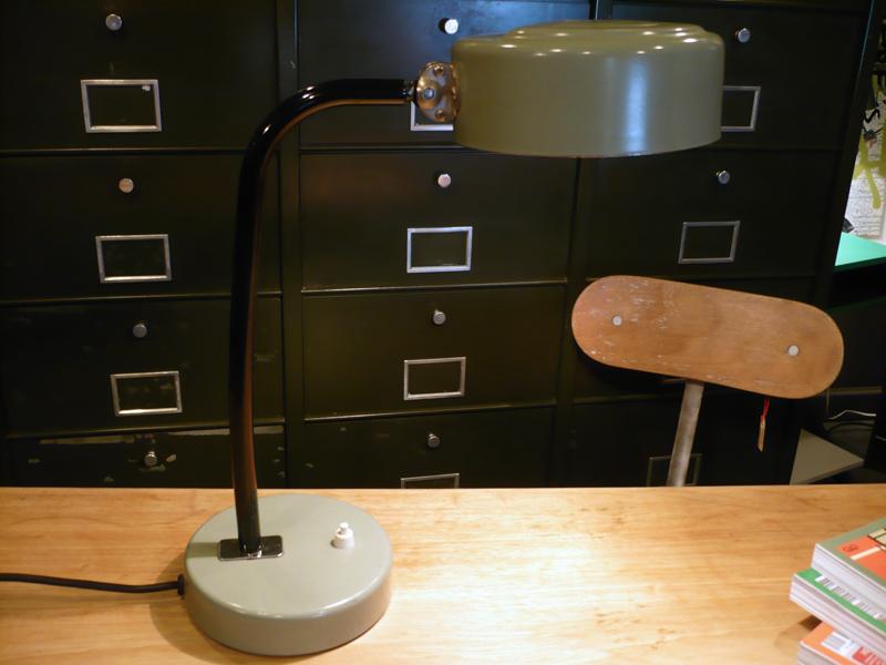 Lampe de métier vintage