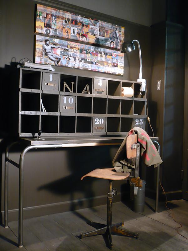 meuble de métier vintage