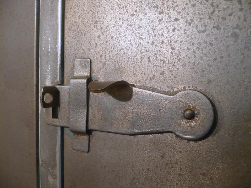 Vestiaire industriel métallique