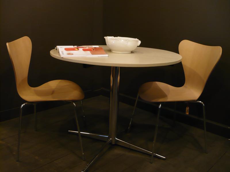Table de repas vintage ronde