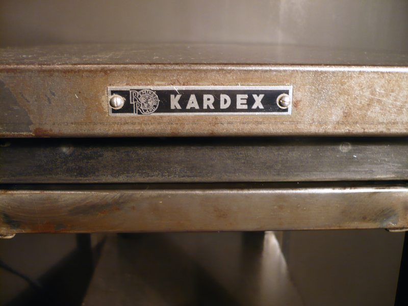 Sellette industrielle Kardex