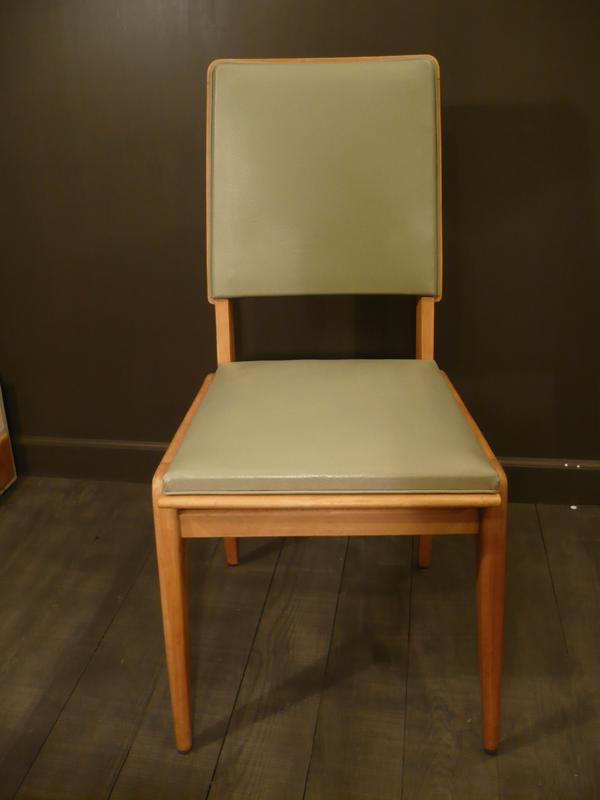 chaise vintage design scandinave