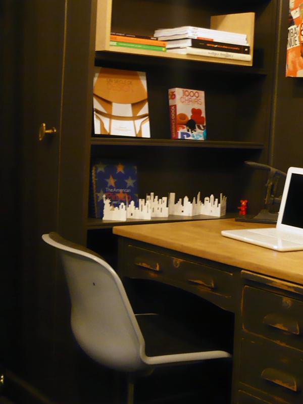 Fauteuil de bureau vintage