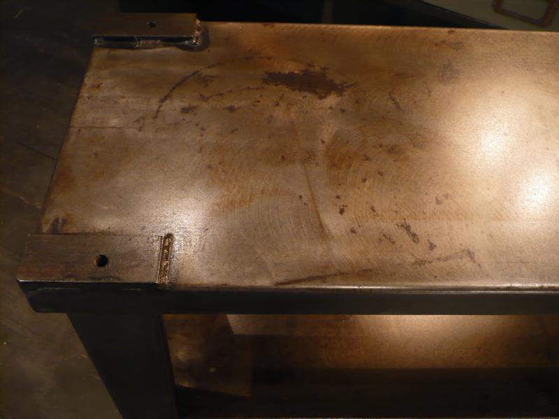 Etabli industriel en métal
