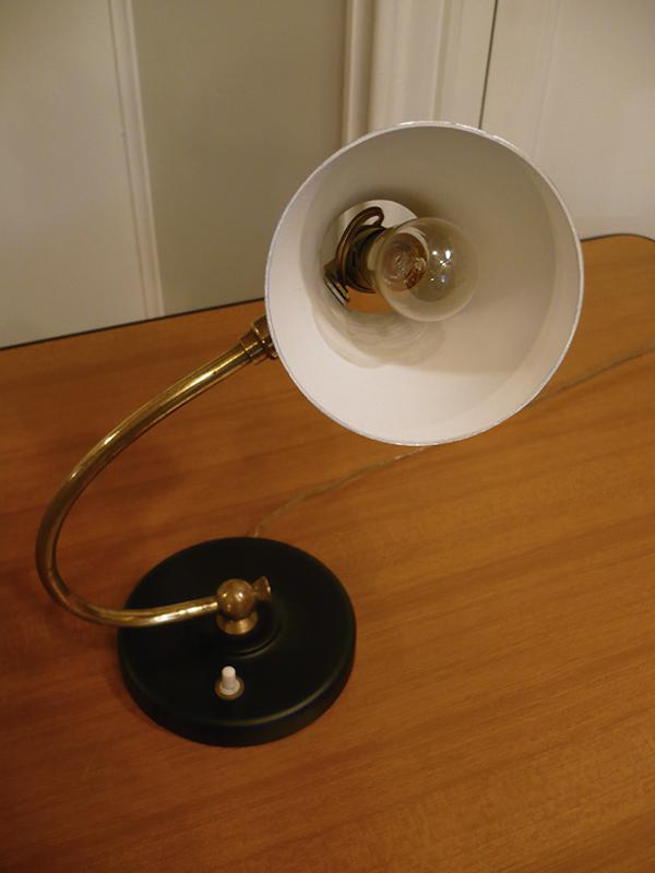 Lampe cocotte vintage