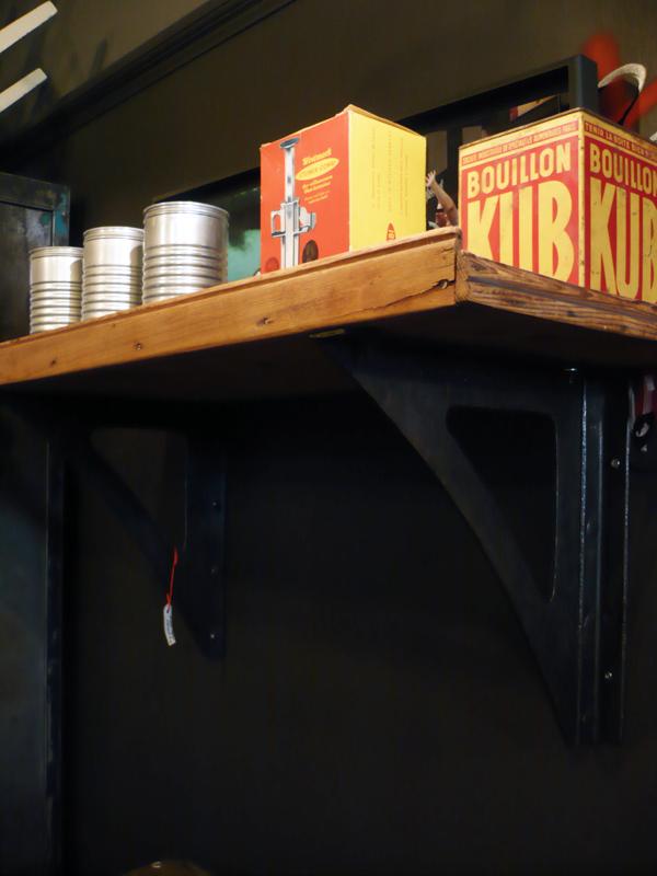étagère industrielle
