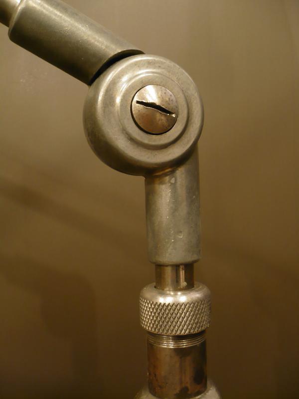 Lampe d'atelier vintage Derungs