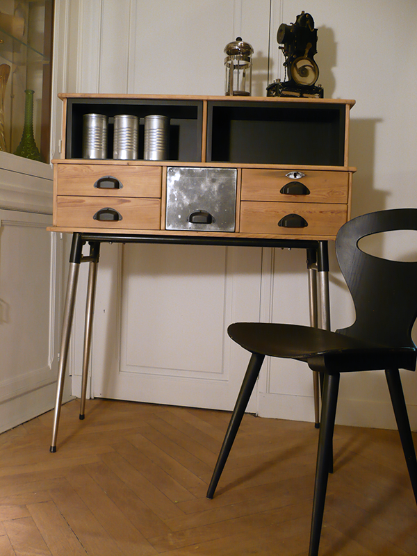 meuble en bois vintage