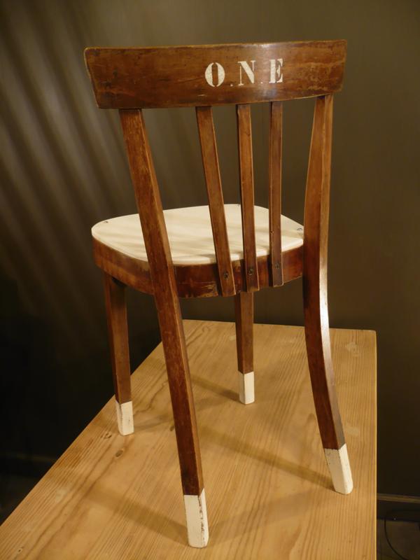 Chaise bistrot vintage Fischel