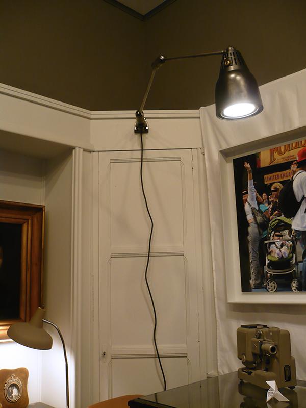 Lampe d'atelier Art Déco Swivelier
