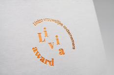 Livia award logo mock-up