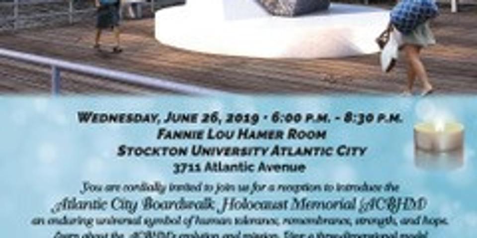 Atlantic City Boardwalk Holocaust Memorial Reception
