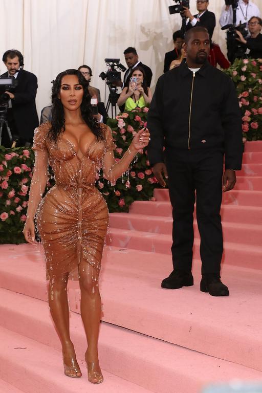 Kim Kardashian en Thierry Mugler au met gala 2019