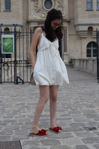 La petite robe blanche