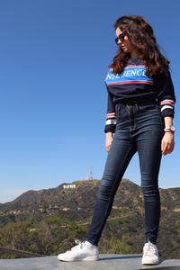 Photo de rosepaillettee de pied sur le hollywood hike