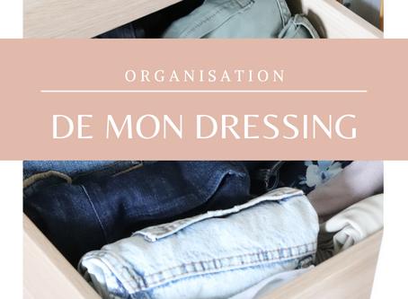 Organisation de mon dressing | Home