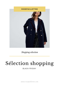sélection shopping black friday