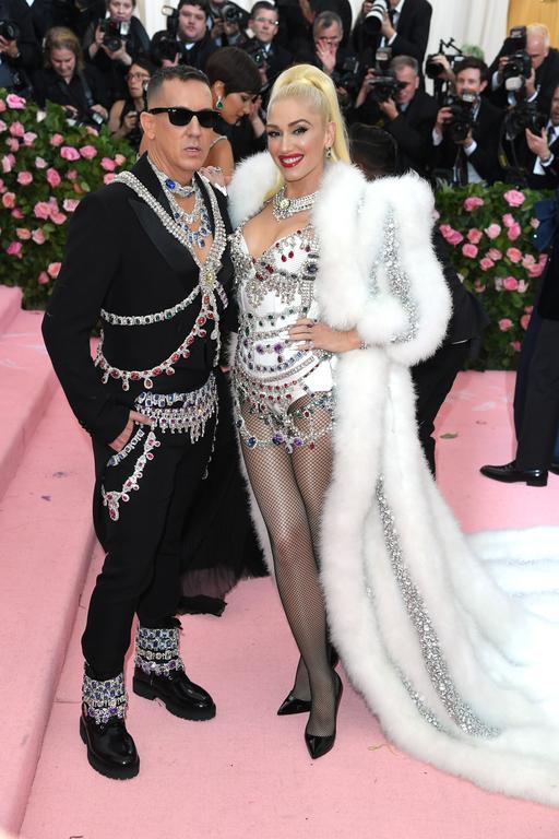 Gwen Stefani et Jeremy Scott en Moschino au met gala 2019