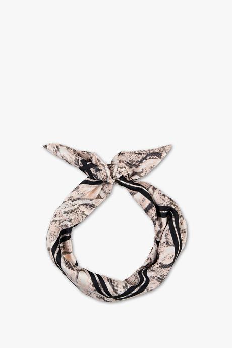 foulard carré python c&a