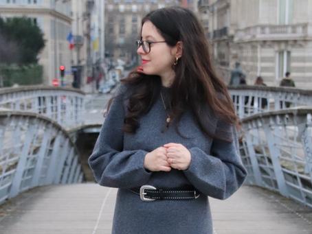 Comment porter la robe pull ? | OOTD