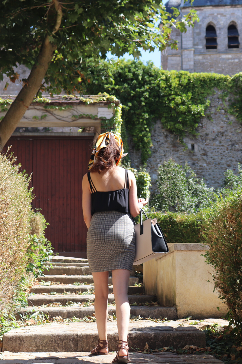 un look de working girl même l'été