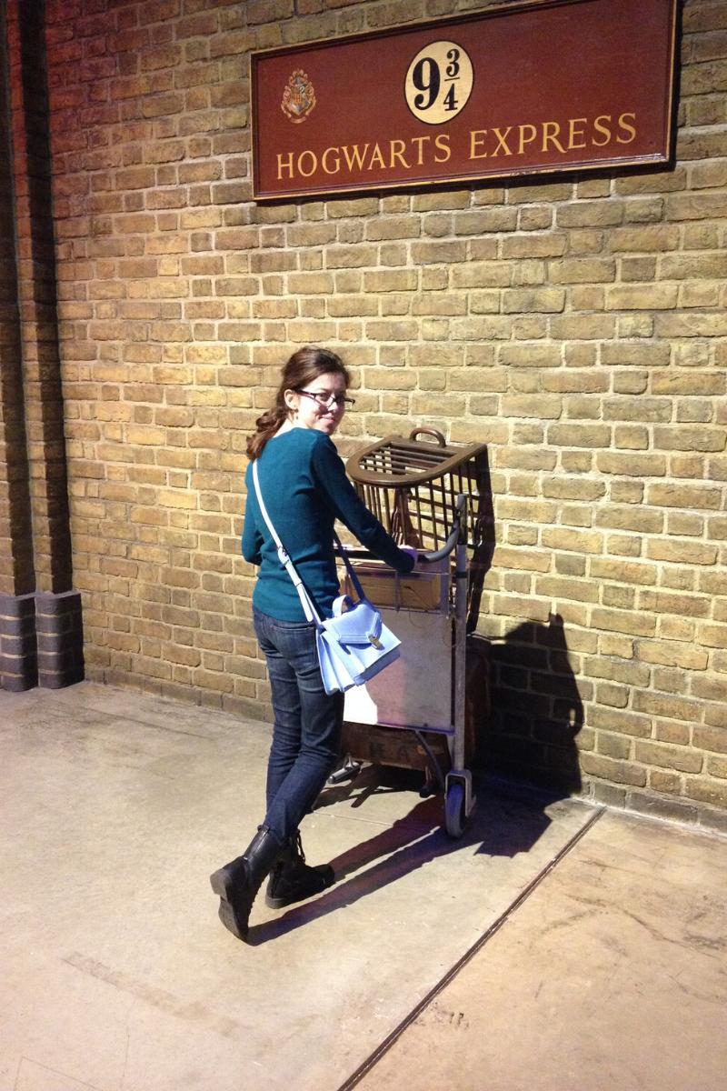 Les studios Harry Potter (et la gare de King's cross)