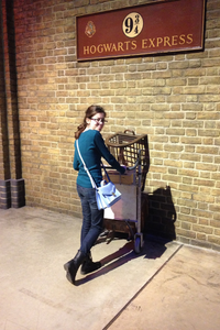 Les studios Harry Potter (et la gare de King's cross)