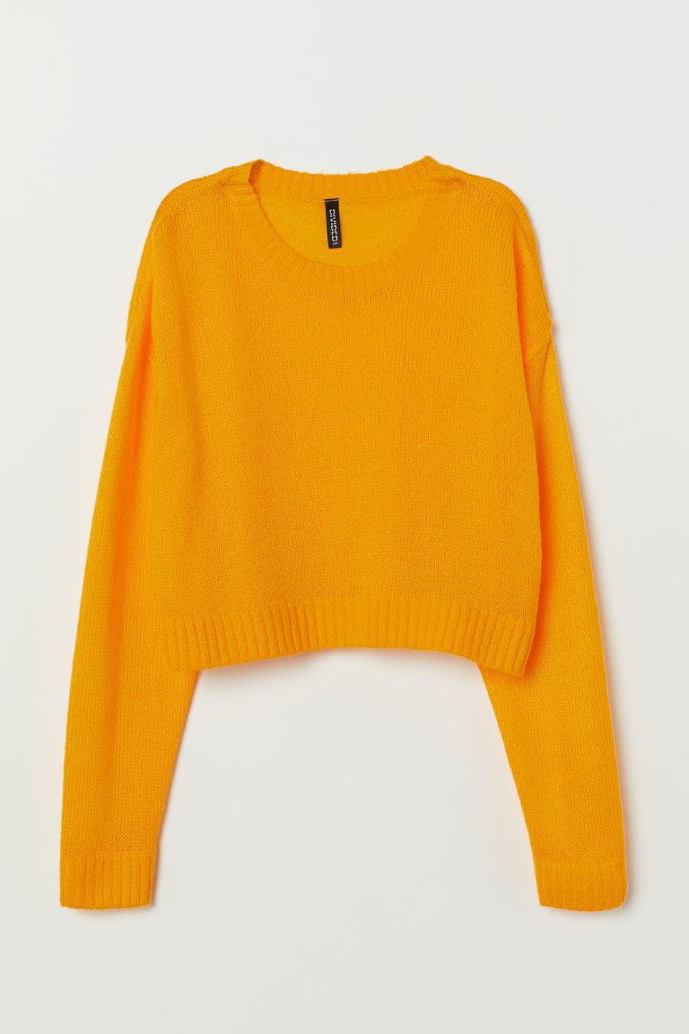 pull jaune moutarde