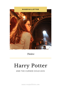 Harry Potter and the cursed child avis