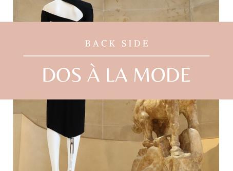 Back side - Dos à la mode | Sortie