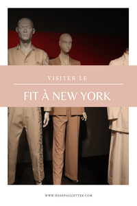 Visiter me FIT à New York