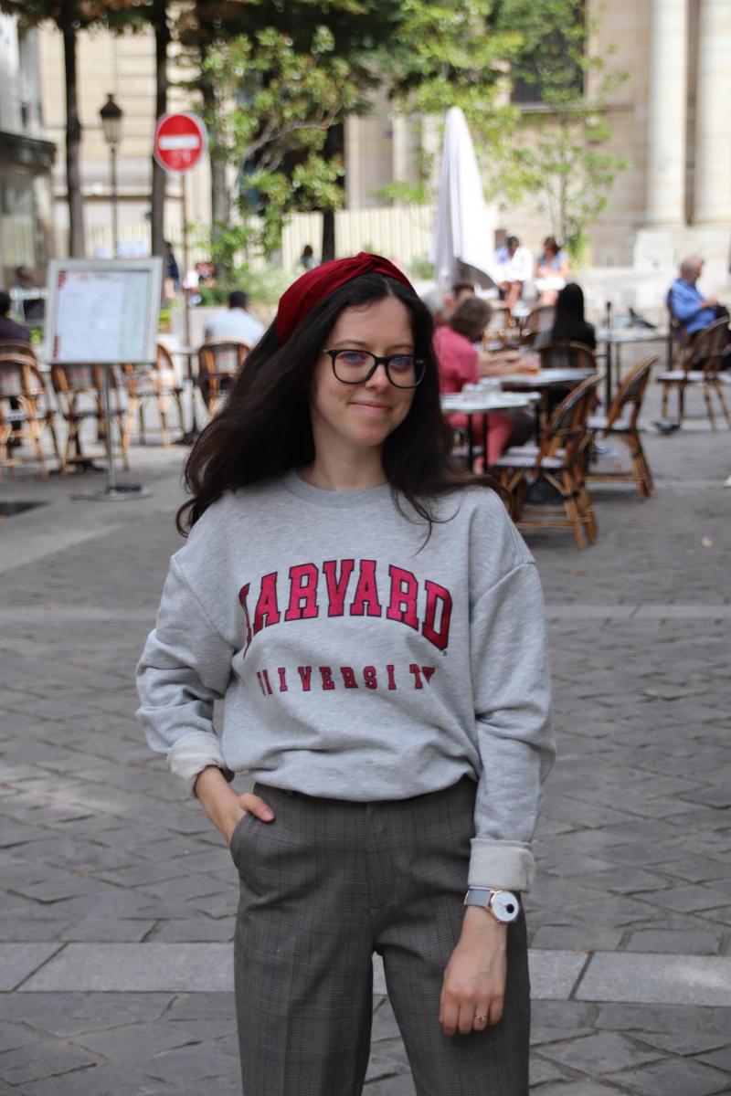 Un look de college girl