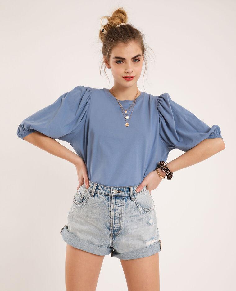 T-shirt bleu layette Pimkie