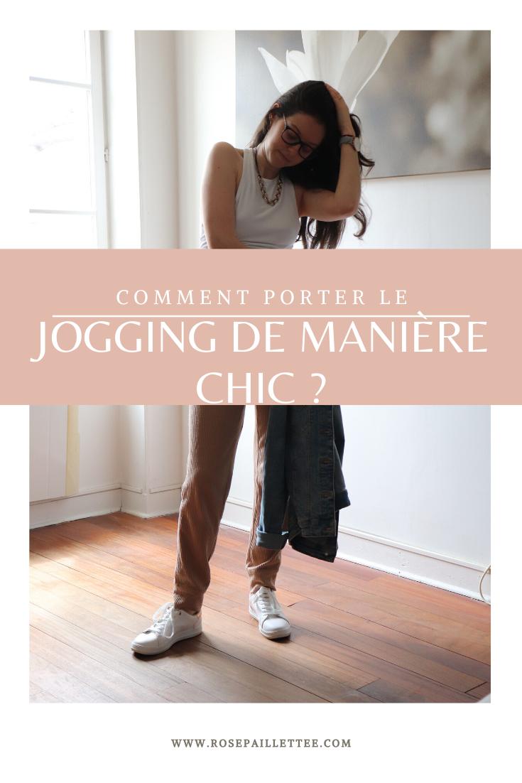 porter le jogging de manière chic
