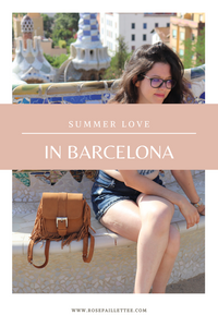 Summer love in barcelona