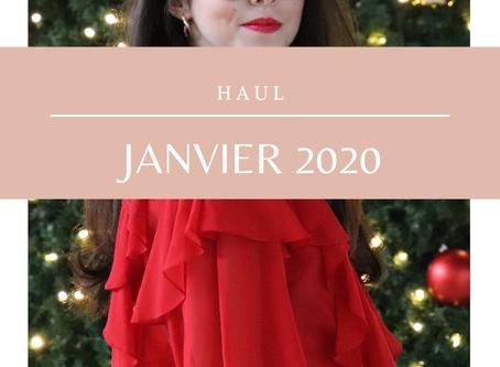 Haul janvier 2020 | Shopping