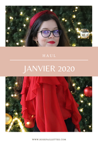 Haul janvier 2020