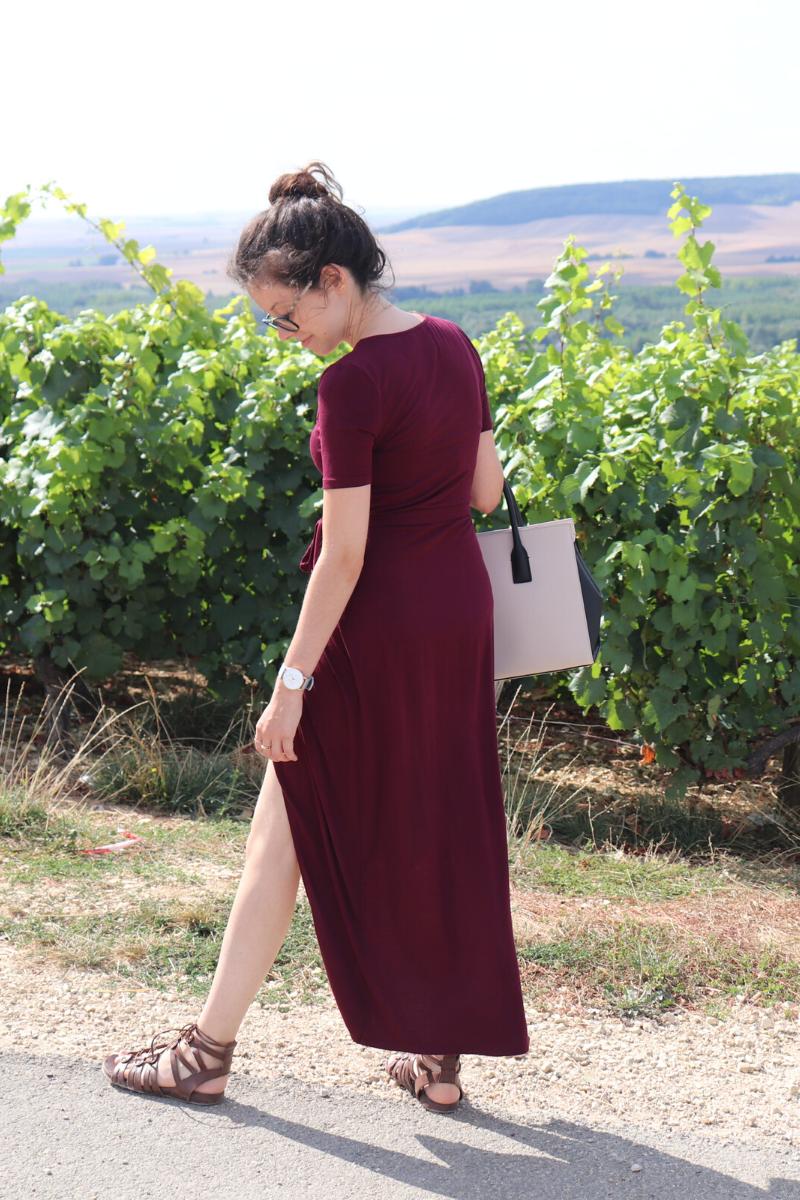 Comment porter la robe longue quand on est petite