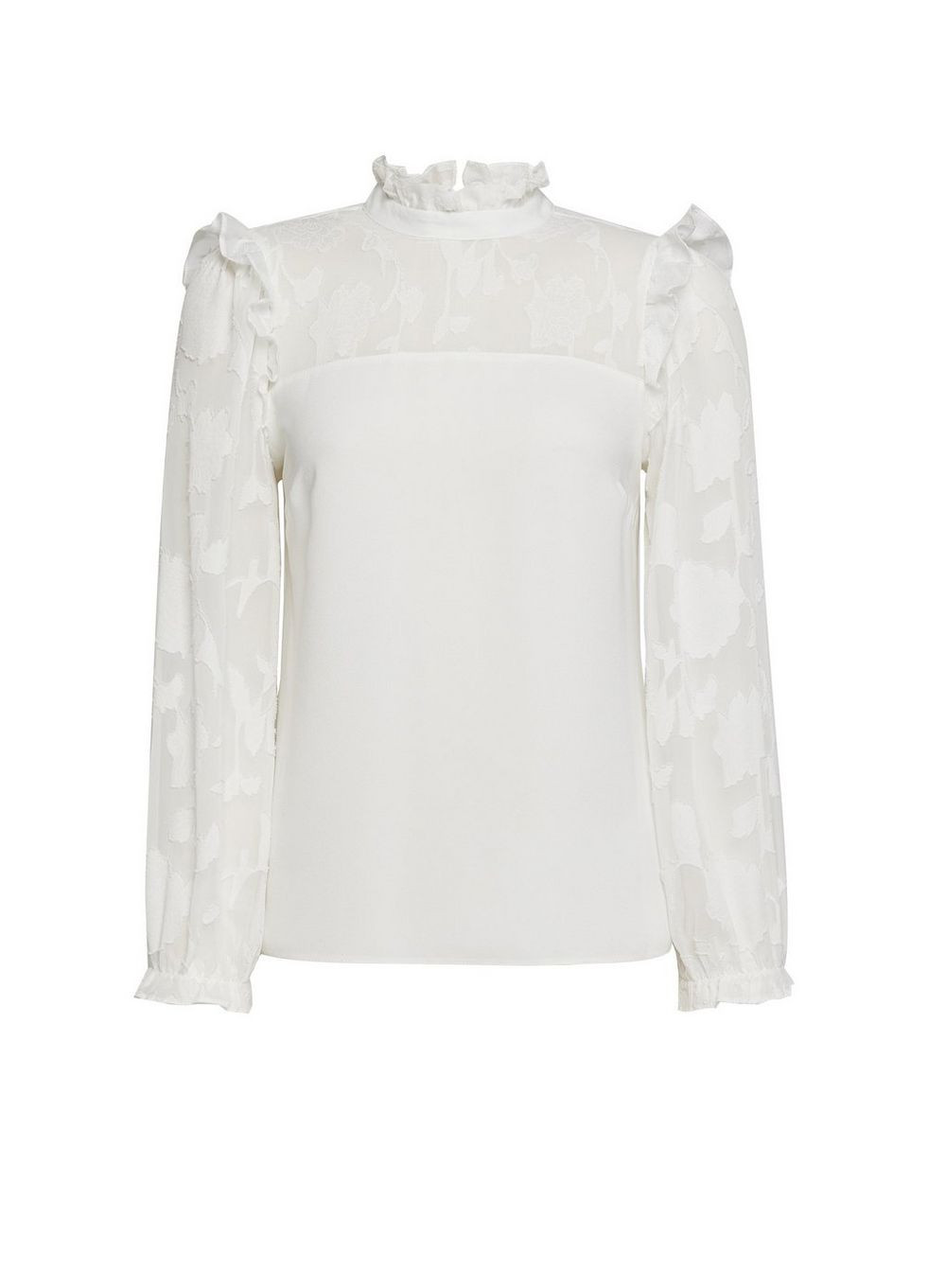 Blouse blanche petite dorothy perkins