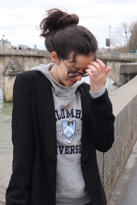 Sweat-shirt d'université et veste blazer