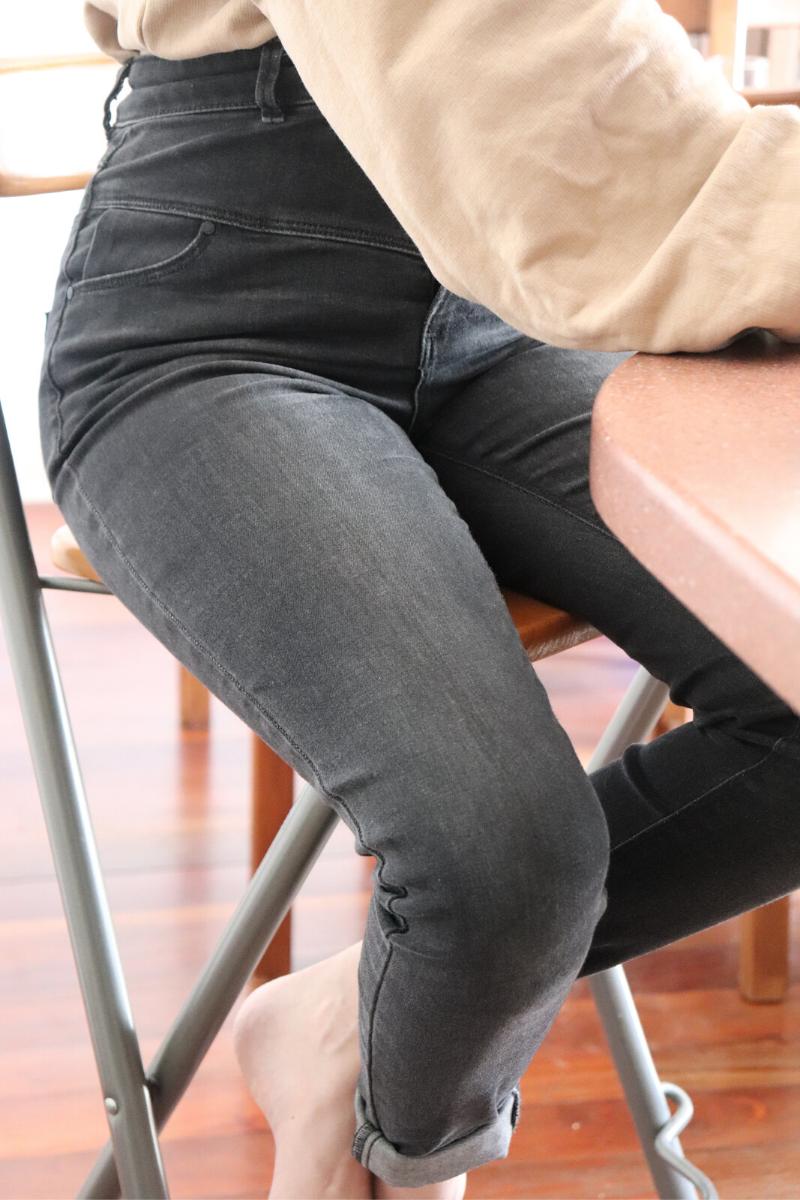 Sweat-shirt et jeans