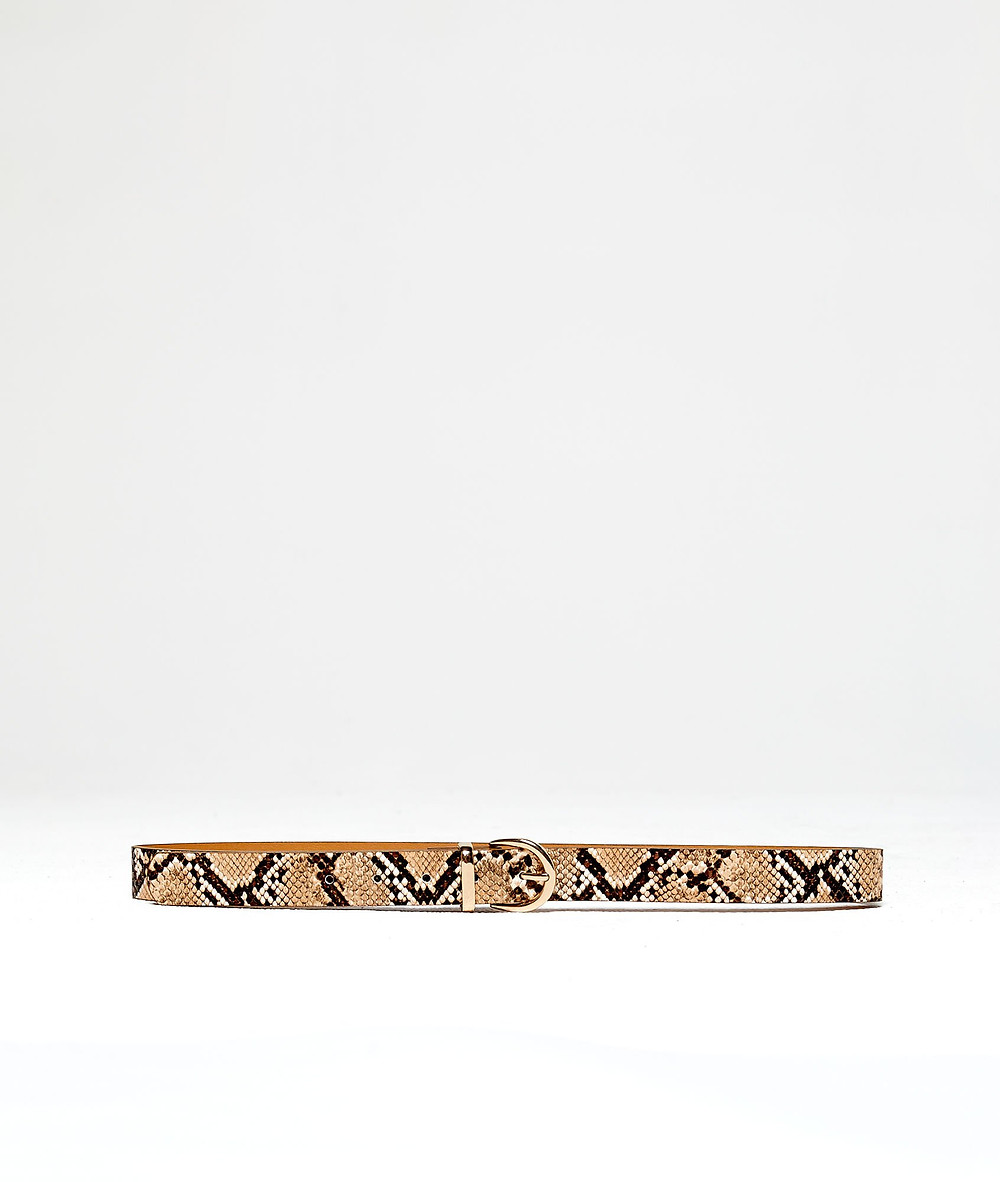 ceinture imprimé python Etam