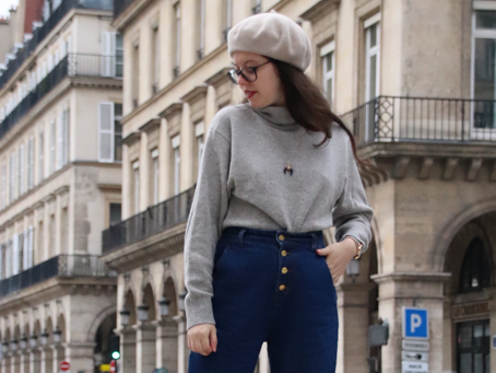 Porter le mom jeans quand on est petite | OOTD